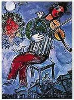 Chagall's Fiddler on the Roof