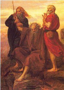 Moses vs. Amalek