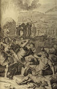 Five Kings of Midian Slain by Israel