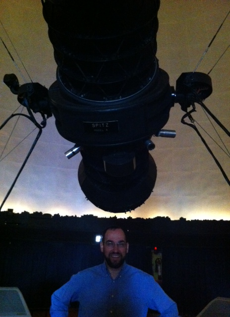 Me and my planetarium