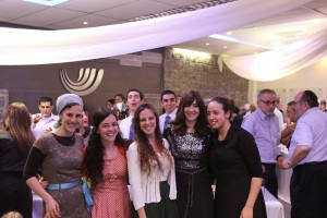 Bar-Mitzvah party-goers