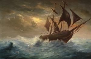 rudderless-ship
