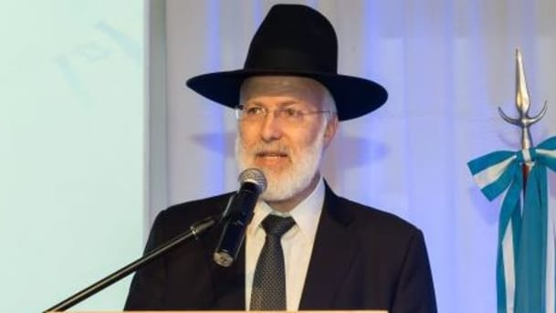 Opinion: Israel is Responsible for the Chief Rabbi of Argentina